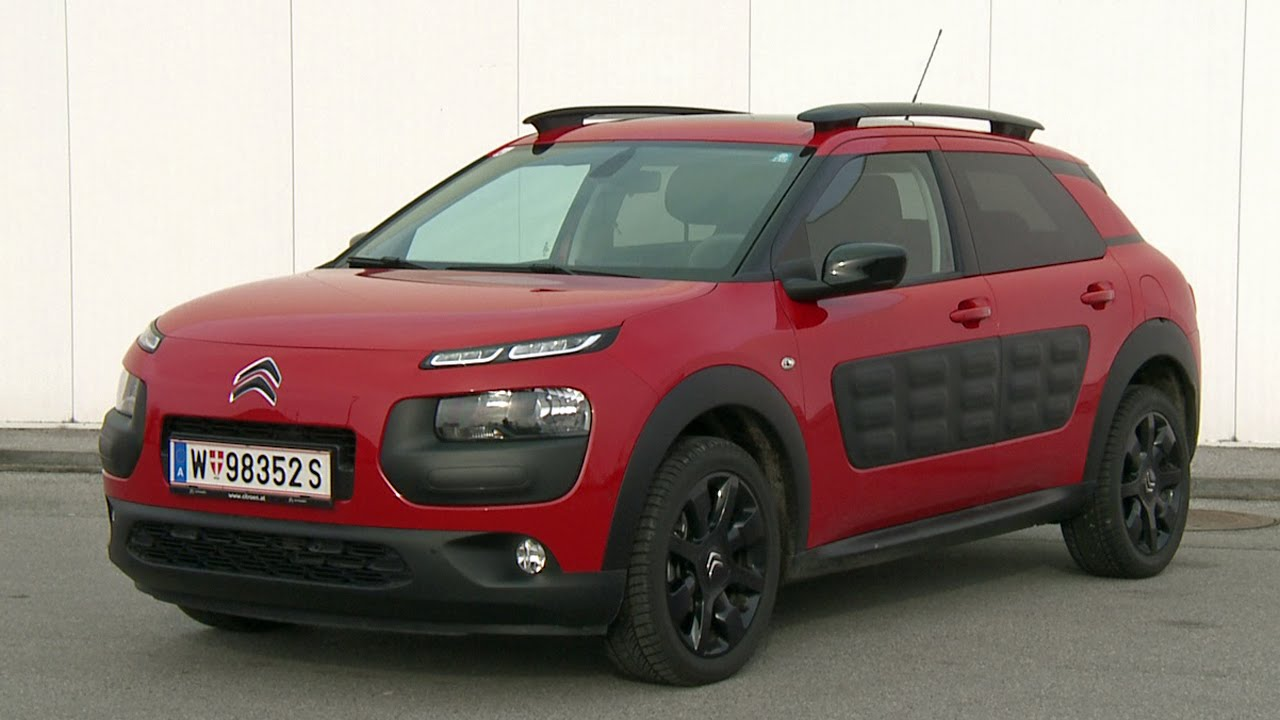 citroen c4 cactus puretech 82 manuell 2015 youtube. Black Bedroom Furniture Sets. Home Design Ideas