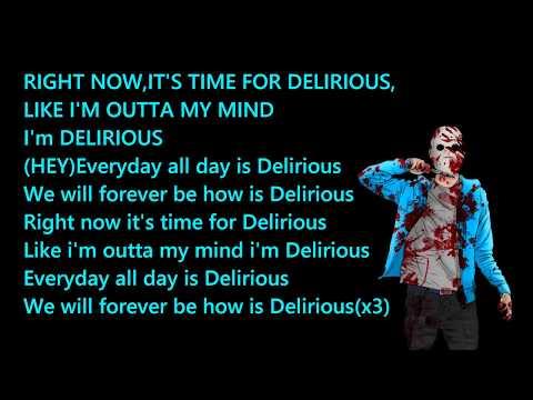 Always Delirious - SpacemanChaos(non-OFFICIAL LYRICS)(CORRECT VERSION IN THE DESCRIPTION)