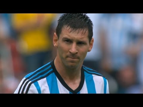 Messi mania | Argentina 3-2 Nigeria | 2014 World Cup