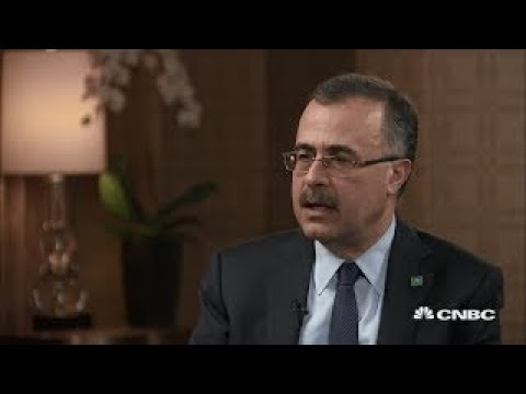 Saudi Aramco CEO Amin Nasser interview