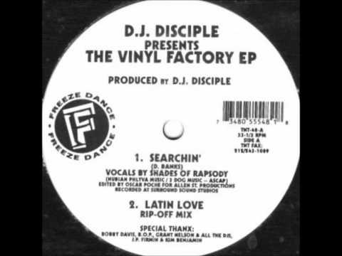 DJ Disciple - Searchin'