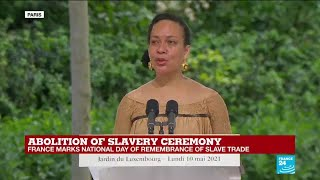 REPLAY - France commemorates national day of the abolition of slavery