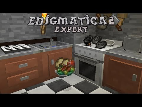 Enigmatica 2 Expert - TOP TIER FOOD [E07] (Modded Minecraft)