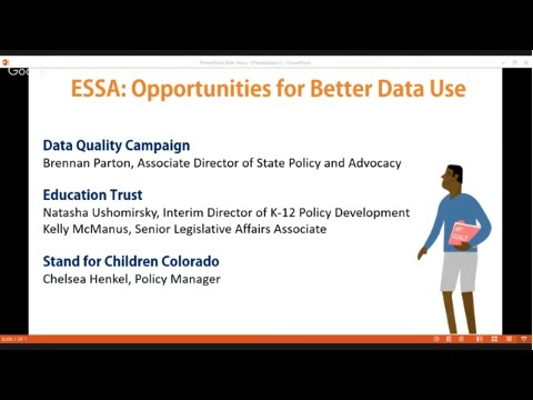 ESSA: Opportunities for Better Data Use