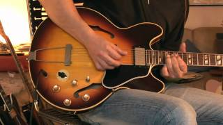 1966 Gibson ES-345 Part 1 (varione demo clean & overdrive)