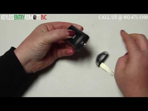 How To Replace A 2009 – 2014 Acura TL Key Fob Battery FCC ID M3N5WY8145