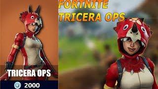New Epic Skin-Fortnite Tricera ops 50vs 50v2 gameplay