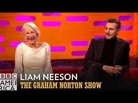 Liam Neeson Recalls First Meeting Ex-Girlfriend Helen Mirren - The Graham Norton Show