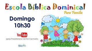EBD Infantil - 15 de novembro de 2020