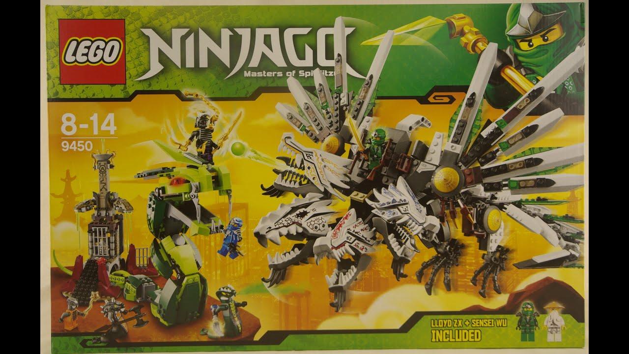 Ninjago Overlord Golden Mech