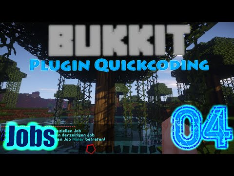 Minecraft Bukkit Quickcoding | Job Plugin