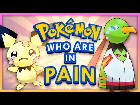 Pokemon Who Are in Pain