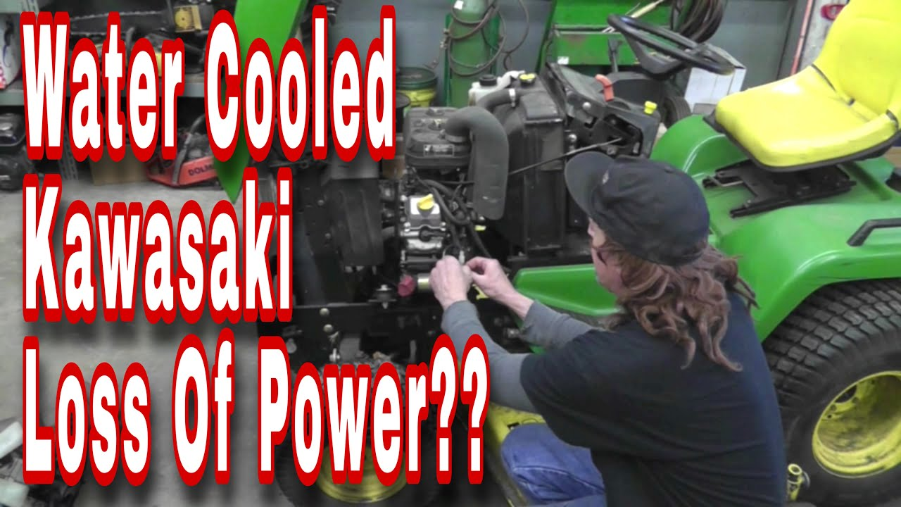 What To Look For On Kawasaki Water Cooled Twins Loss Of Power With Fd731v Wiring Diagram Taryl Youtube