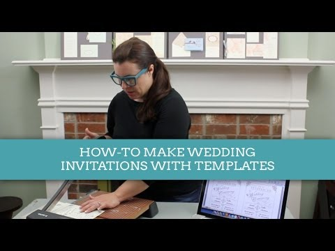 how to make a wedding invitations with download print templates