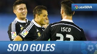Video Gol Pertandingan Celta Vigo vs Real Madrid