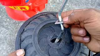 Tricycle How To Repair Tricycle Front Wheel At Home...?