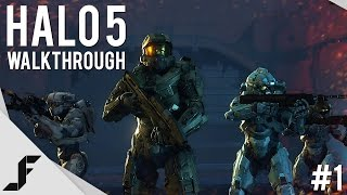 HALO 5 Walkthrough Part 1 - Master Chief
