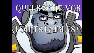 OVERSUMO: QUELS SONT VOS POINTS FAIBLES?