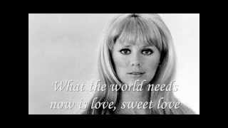 Jackie DeShannon - What the World Needs Now (with lyrics)