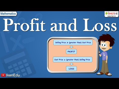 Math Lessons Learn About Profit Amp Loss Youtube