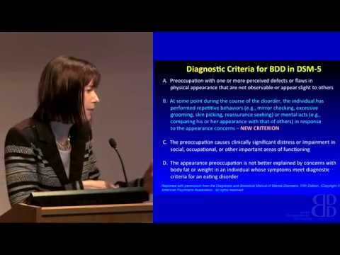 Keynote Speaker - Katharine Phillips MD | Body Dysmorphic Disorder (BDD) Conference 2015, London