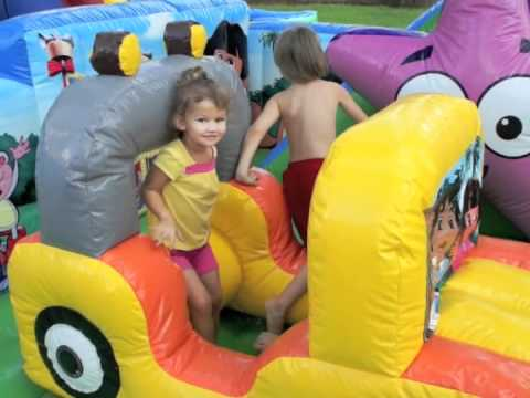 Katy, TX Party Rentals - Dora the Explorer Moon Bounce