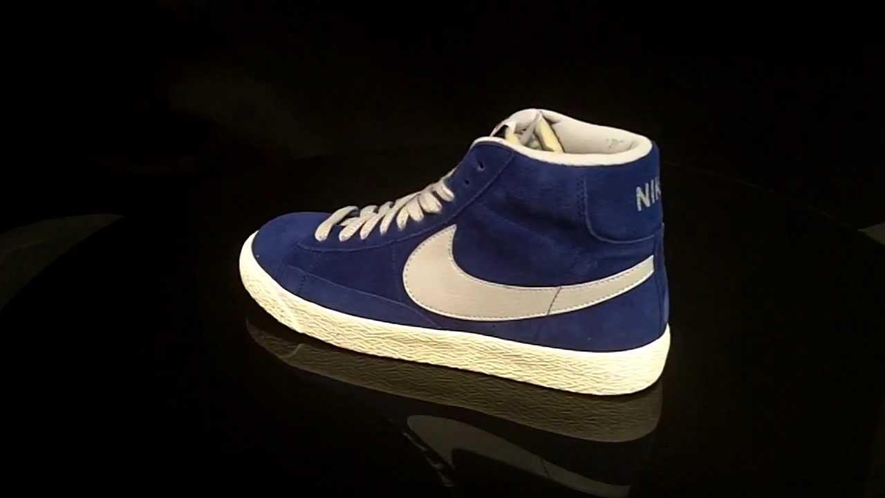 d58985347e00af Nike Blazer Mid Royal Blue DPRYLB STRTGR Premium Vintage Suede 538282
