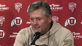 2018 Utah football: Kyle Whittingham talks Utes' 32-25 win over Oregon