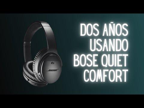Dos años usando los audífonos Bose Quietcomfort 35