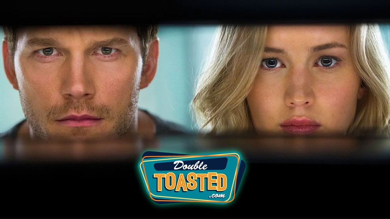 passengers 2016 movie review double toasted review youtube. Black Bedroom Furniture Sets. Home Design Ideas