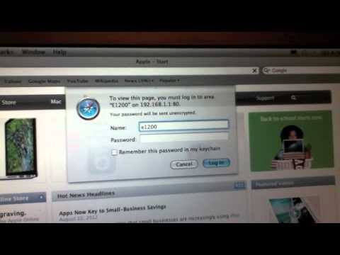 Cisco Linksys E1200 Faster Wifi Tutorial