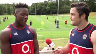 England Rugby World Cup 2015 Training Camp Player Diary: Week 2