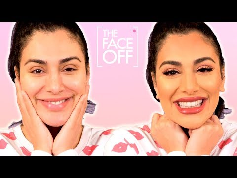 Huda Kattan&39;s  makeup routine  The Face Off  Cosmopolitan UK