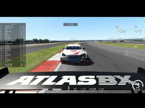 2016 CJ Korea Express Superrace Assetto Corsa Championship R01 SilverStone GP