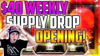 $40 Supply Drop Opening! C