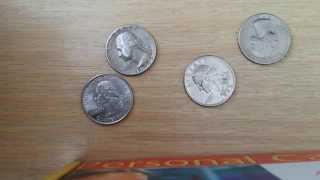 Bruce Hurley's Four Coins Puzzle