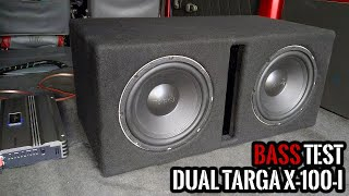 Dual Targa X-100-i 4Ω DVC 10
