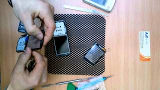 21. Nokia C3-01 разбор, замена тачскрина