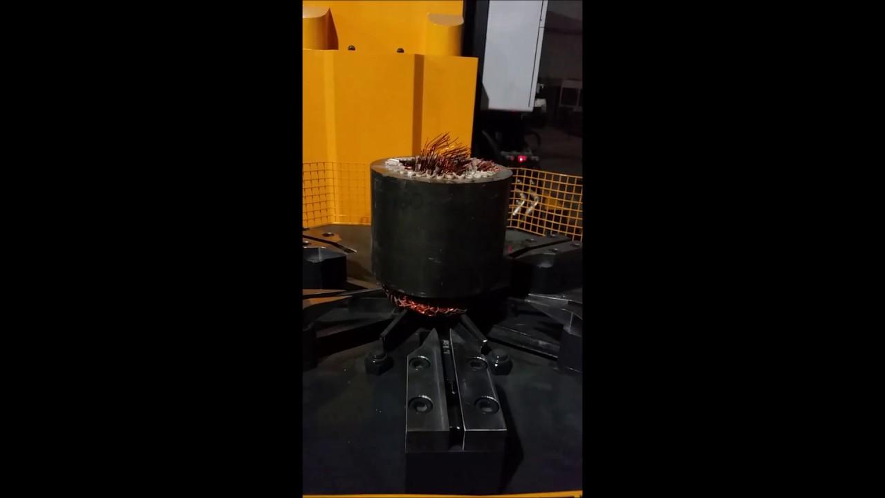 Electric Motor Recycling Machine Elektrik Motoru Geri D N M Makinas Beken Mak Na Youtube