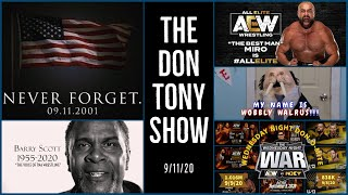 LIVE WWE SMACKDOWN Review 9/11/20; AEW/NXT Quarter Ratings; MIRO Talks Joining AEW; RIP BARRY SCOTT
