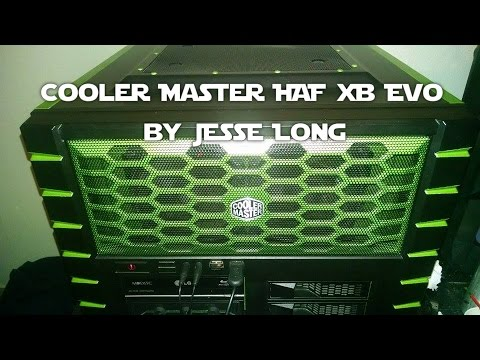 Cooler Master Haf Xb Evo Build And Custom Paint Job By