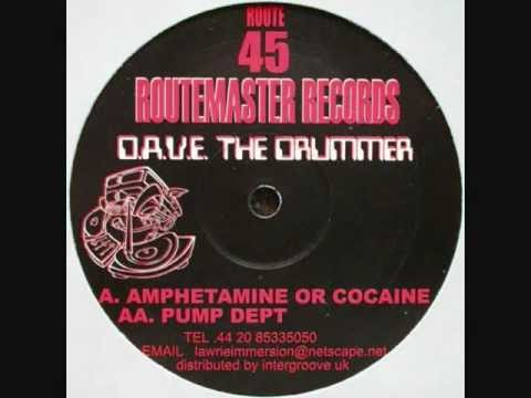 D.A.V.E. The Drummer - Amphetamine Or Cocaine
