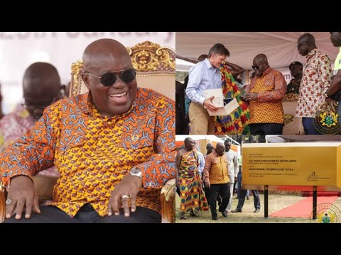 MAGNIFICENT! Commemoration Of First Gold Pour Of Anglogold Ashanti Obuasi Mine, Since 2014