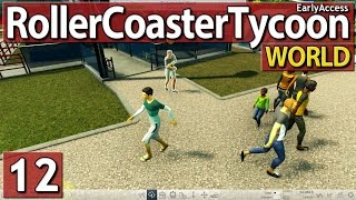 Roller Coaster Tycoon World #12 BESTANDSAUFNAHME deutsch german