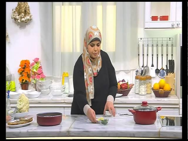 كيك السميد - بيكاتا الدجاج - قرنبيط - شعرية باللبن : على قد الأيد حلقة كاملة