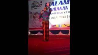 Dr Ban show at Sukan KKM Sanah