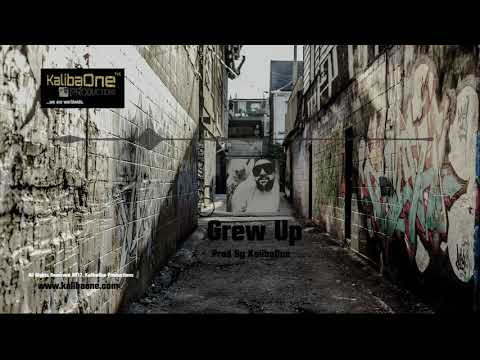 Storytelling Piano Rap Instrumental - Real Hip Hop Beat ''Grew Up'' (Prod By KalibaOne)