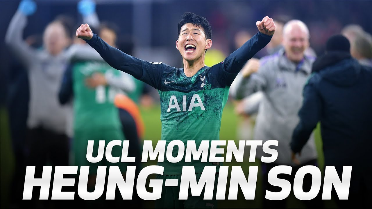 HEUNG-MIN SON'S BEST 2018/19 UEFA CHAMPIONS LEAGUE MOMENTS