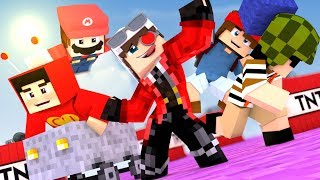 НОВАЯ ИГРА НА РЕАЛМСЕ! КУЧА МИНИ ИГР! Minecraft Realms