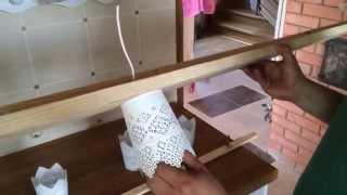 видео Как сделать плафоны для люстры своими руками